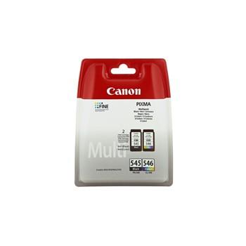 Zestaw  dwóch  tuszy  Canon  PG545/CL546  do  MG-2450/2550 | 2 x 8ml | CMYK