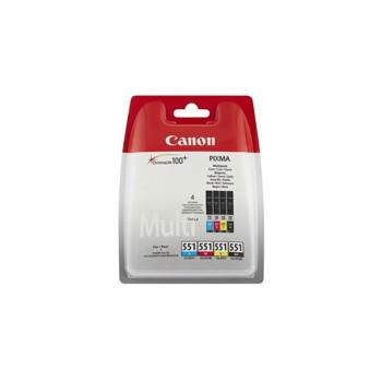 Tusz  Canon  CLI551 do iP-7250, MG-5450 |   CMYK