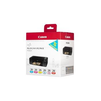Zestaw tuszy Canon  PGI29  do Pixma  Pro-1 | C/M/Y/PC/PM/R