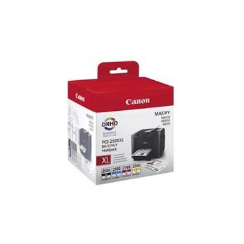 Zestaw czterech  tuszy  Canon PGI2500XL do MB-5050/5350 | 4 x 19.3ml | CMYK