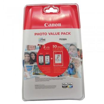 Tusz  Canon  PG545XL/CL-546XL +  50x GP-501 do MG2450, balck/color
