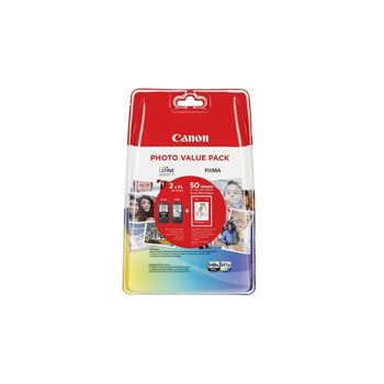 Tusz Canon value pack PG-540XL+Cl-541XL+papier photo (PG-540XL+CL-541XL bk/col)