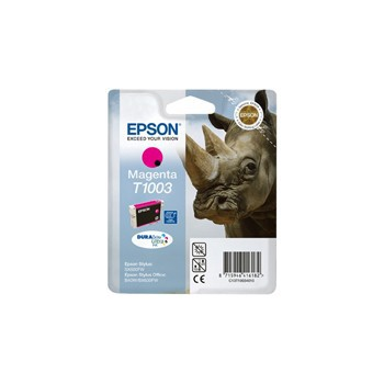 Tusz Epson T1003 do EpsonStylus Office BX6000FW SX-510W/515W | 11,1ml | magenta