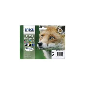 Zestaw tuszy Epson T1285 do  StylusS22, SX-125/130/230/235W/420W   16,4ml   CMYK