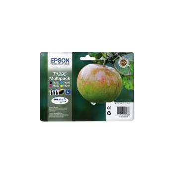 Zestaw tuszy  Epson T1295 do Stylus SX-230/235W/420W/425W/430W | 32,2ml | CMYK