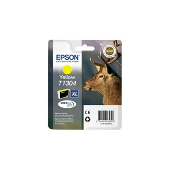 Tusz Epson T1304  do Stylus  BX-525WD/535WD, SX620FW | 10,1ml | yellow