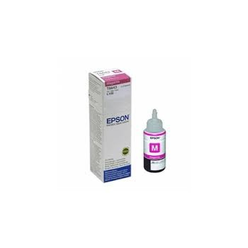 Butelka  z tuszem  Epson T6643  do  L-100/200/210/300/355/550  | 70ml | magenta