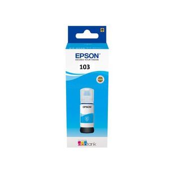 Butelka z tuszem Epson  T103  do L31xx | 65ml | cyan