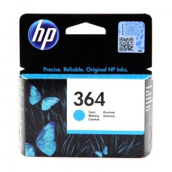 Tusz HP 364 Vivera do Photosmart 5510/5515/7510, C5380/6380   300 str.   cyan
