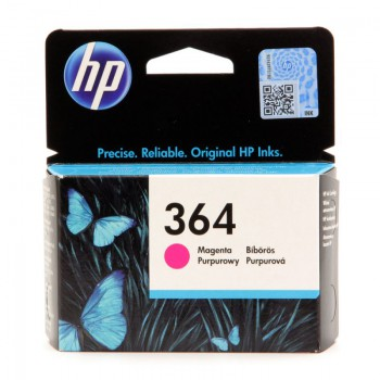 Tusz HP 364 Vivera do Photosmart 5510/5515/7510, C5380/6380   300 str.   magenta