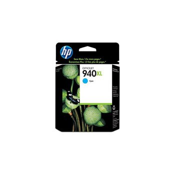 Tusz HP 940XL do Officejet Pro 8000/8500 | 1 400 str. | cyan
