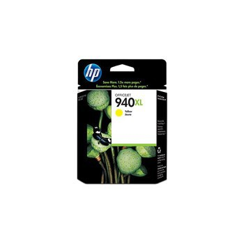 Tusz HP 940XL do Officejet Pro 8000/8500 | 1 400 str. | yellow