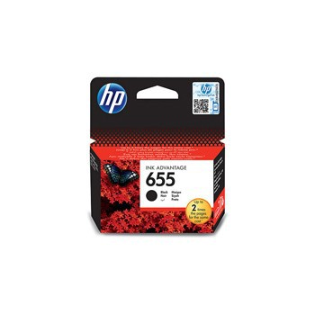 Tusz HP 655 do Deskjet 3525/4615/4625/5525/6525 | 550 str. | black