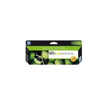 Tusz HP 971XL do Officejet Pro X451DW/476DW/551DW/576DW | 6 600 str. | yellow