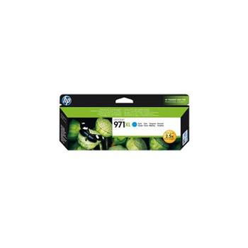 Tusz HP 971XL do Officejet Pro X451DW/476DW/551DW/576DW | 6 600 str. | cyan