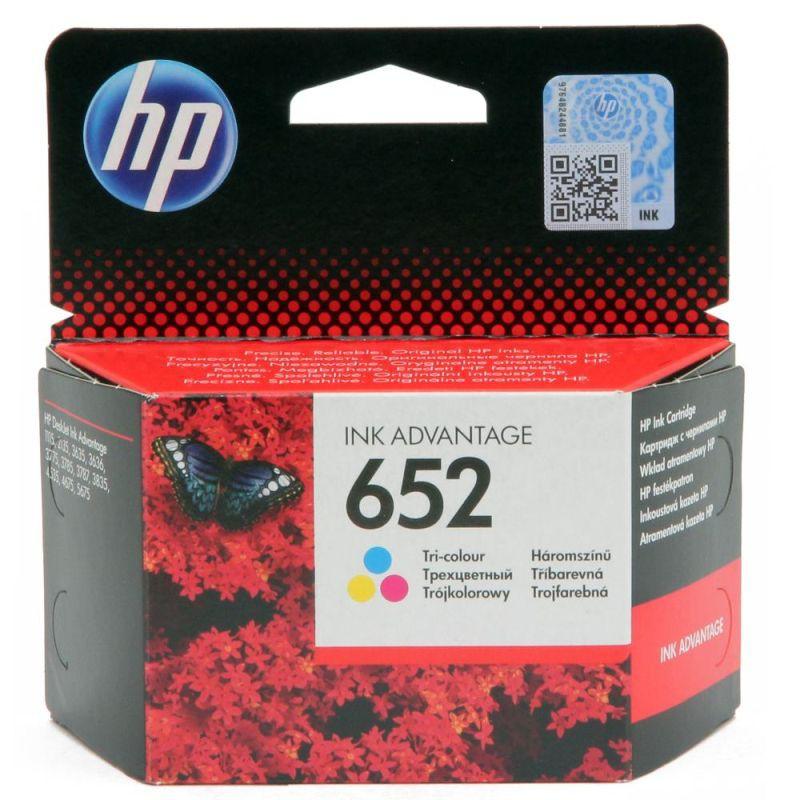 Tusz HP 652 do Deskjet 1115/3835/4535/2135/3635/4675 | 200 str. | CMY