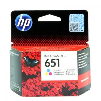 Tusz HP 651 do DeskJet 5645 | 300 str. | CMY