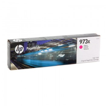 Tusz HP 973X do PageWide Pro 452DW/DWT, 477DW/DWT | 7 000 str. | magenta