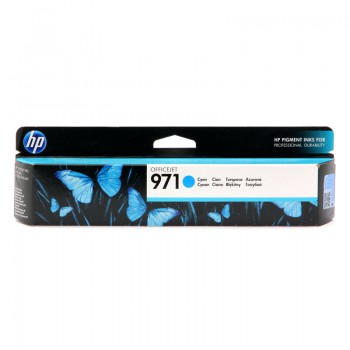 Tusz HP 971 do Officejet Pro X451DW/476DW/551DW | 2 500 str. | cyan
