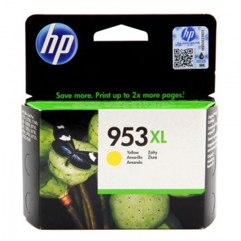 Tusz HP 953XL do OfficeJet Pro 8210/8710/8715/8720/8725 | 1 600 str. | yellow