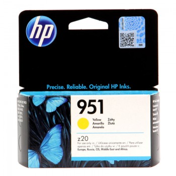 Tusz HP 951 do Officejet Pro 8100/8600 | 700 str. | yellow
