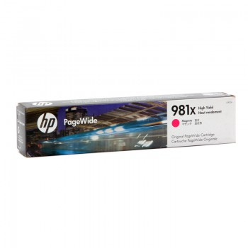 Tusz HP 981XL do PageWide Color 556dn   10 000 str.   magenta