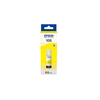Tusz Epson 106  EcoTank do L7160/L7180 | 70 ml | yellow