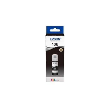 Tusz Epson 106 EcoTank  do  L7160/L7180 | 70 ml | black