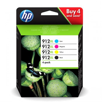 Tusz HP 912XL do OfficeJet Pro 801*/802* | 825 str. | CMYK