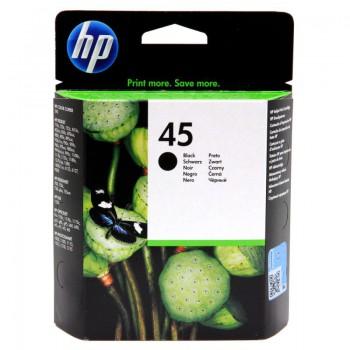 Tusz HP 45 do Deskjet 980/1000/1100/1120/1280/1600 | 930 str. | black