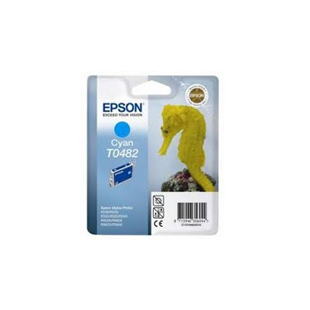 Tusz Epson  T0482  do R-200/220/300/340, RX-500/600/640 | 13ml | cyan