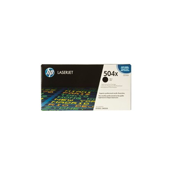 Toner HP 504X do Color LaserJet 3525/3530 | 10 500 str. | black
