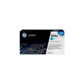 Toner HP 504A do Color LaserJet 3525/3530 | 7 000 str. | cyan