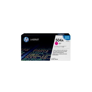 Toner HP 504A do Color LaserJet 3525/3530 | 7 000 str. | magenta