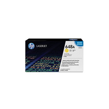 Toner HP 648A do LaserJet CP4025/4525 | 11 000 str. | yellow