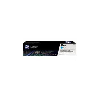 Toner HP 126A do Color LaserJet Pro CP1025, M175/275 | 1 000 str. | cyan