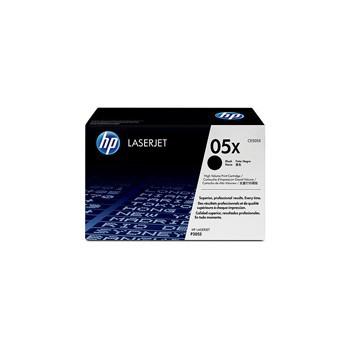 Zestaw dwóch tonerów HP 05X do LaserJet P2055 | 2 x 6 500 str. | black