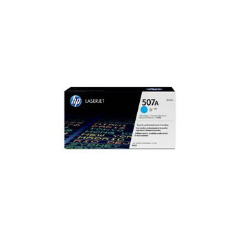 Toner HP 507A do LaserJet M551/570/575 | 6 000 str. | cyan