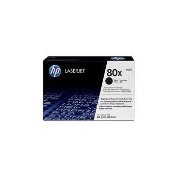 Zestaw dwóch tonerów HP 80X do LaserJet Pro 400 M401/425 |2 x 6 900 str. | black