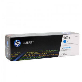 Toner HP 201X do Color LaserJet Pro M252/277 | 2 300 str. | cyan