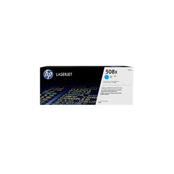 Toner HP 508X do Color LaserJet  M552/553 | 9 500 str. | cyan