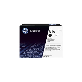 Toner HP 81A do LJ ENTERPRISE M604/605/606/630   10 500 str.   black