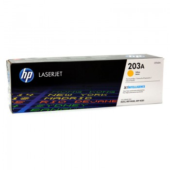 Toner HP 203A do Color LaserJet Pro M254dn/M280nw | 1 300 str | yellow