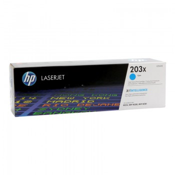 Toner HP 203X HY do Color LaserJet Pro M254dn/M280nw | 2 500 str | cyan