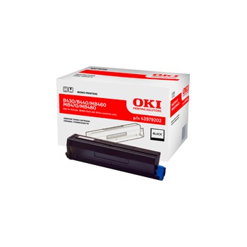 Toner Oki do B430/B440 MB460/470/480  | 7 000 str. | black