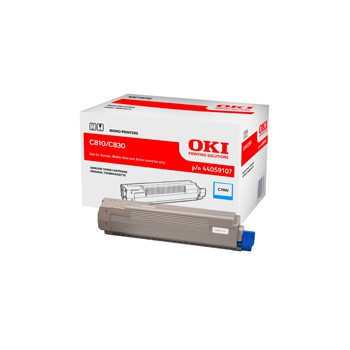 Toner Oki do C-810/830 | 8 000 str. | cyan