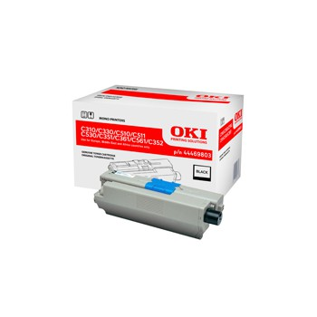 Toner Oki do C-310/330/510/530/351/361/561/352/361/362 | 3 500 str. | black