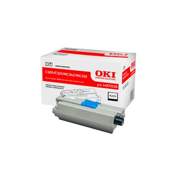 Toner Oki do C301/321/ MC342/MC332 | 2 200 str. | black