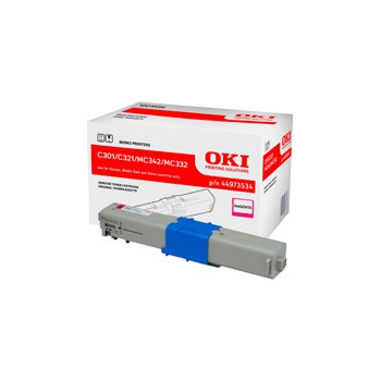 Toner Oki do C301/321/ MC342/MC332 | 1 500 str. | magenta