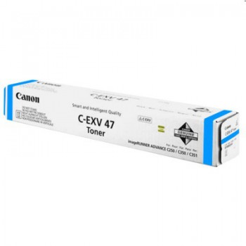Toner Canon CEXV47 do  iR C250i/250iF/255i/255iF/350i | 21 500 str. | cyan
